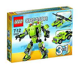 LEGO Creator 3 in 1, Robot Power Mech -