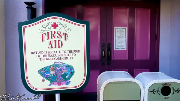 Disneyland Resort, Disneyland, Lockers, First Aid