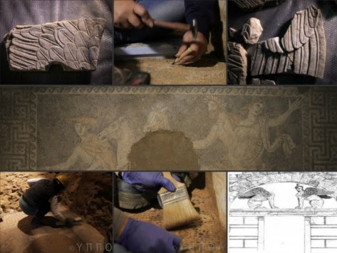 Αμφίπολη: Υπάρχει και υπόγειος θάλαμος στον τάφο; - Πότε θα μάθουμε για το πρόσωπο που είναι θαμμένο - Δείτε το εντυπωσιακό βίντεο από τις ανασκαφές!