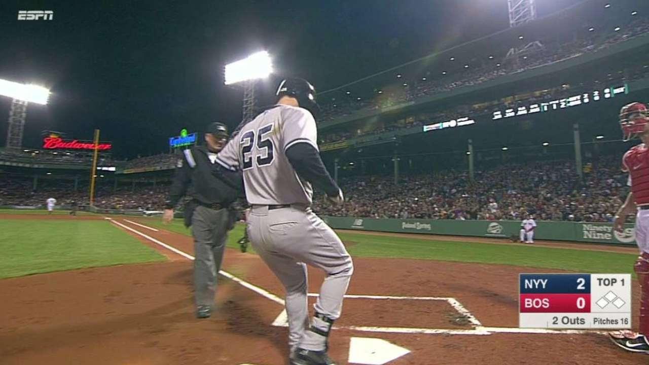 Con poder Yankees barrieron la serie en el Fenway