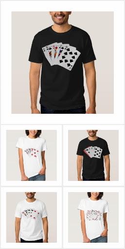 Poker Hands T-shirts