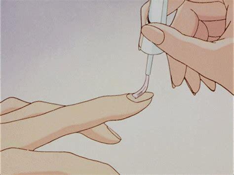 pin  shayco  nails   anime art anime anime