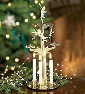 Topline Tourism – Castles, Christmas Markets and Concentration Camps ..., Christmas Decoration With Candles That Spins | Chrismas Decorations, Rotating ...