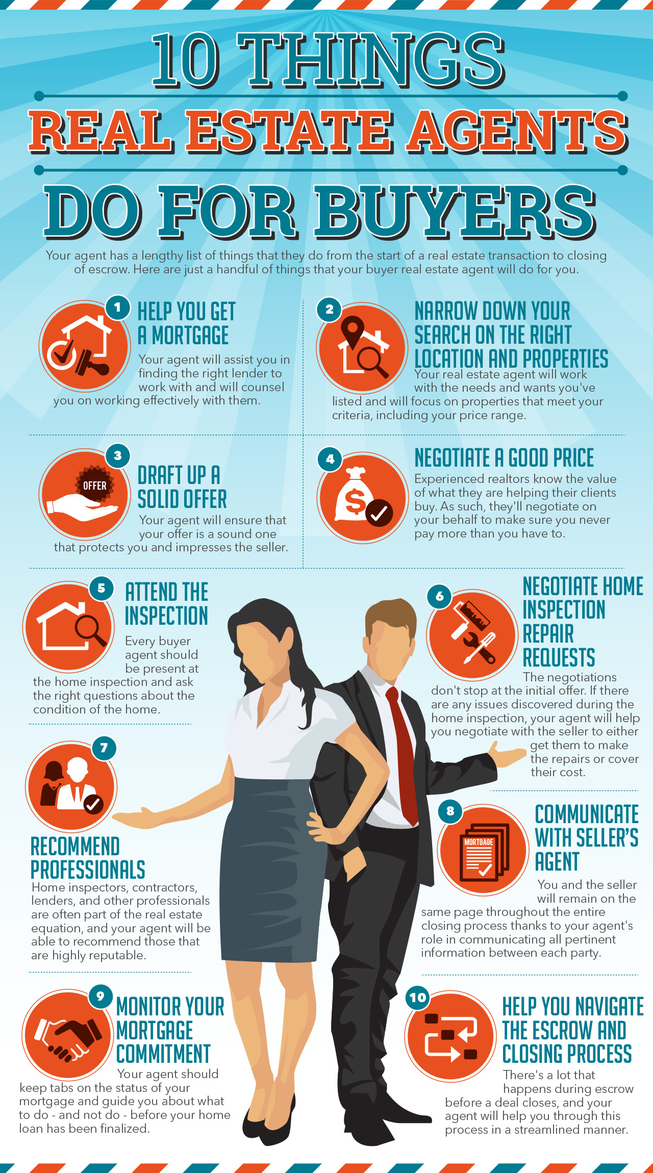 INFOGRAPHIC: 10 Things Real Estate Agents Do For Buyers ...