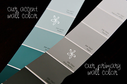 Project Nursery:  Paint Colors
