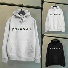 Men Women Friends Print Hoodies Unisex Sport Sweatshirt