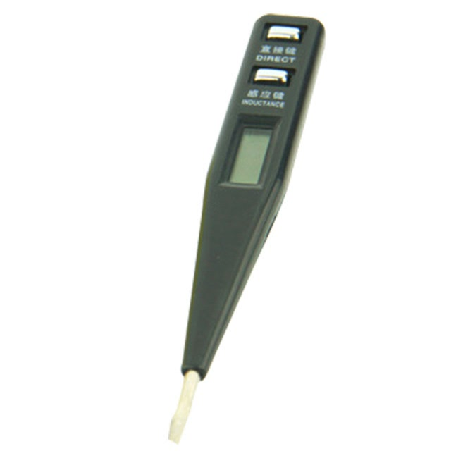 Sale-Multifunction AC DC 12-250V Digital Test Pencil Multi-Sensor Electrical LCD Display Voltage Detector Test Pen Random Color Best Price