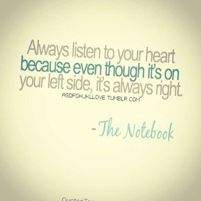 Always Listen To Your Heart Pictures Photos And Images For