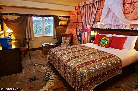 legoland opens  hotel  california daily mail