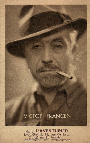 Victor Francen in L'Aventurier