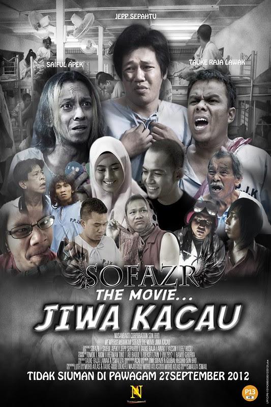 Poster Filem Sofaz The Movie Jiwa Kacau