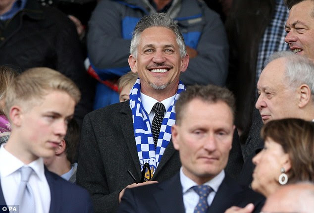 Gary Lineker likes to keep fans up to date with his life as a Leciester supporter