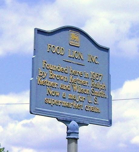 Food Lion, Historical Marker, 1957, Salisbury NC, Rowan Co… | Flickr