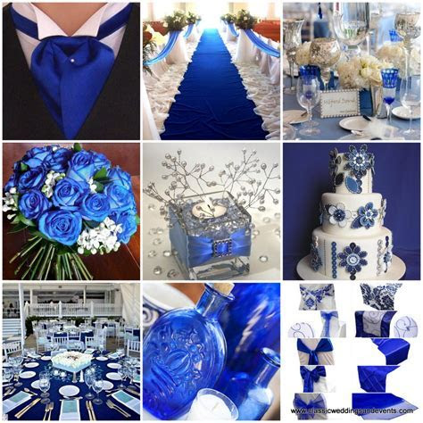 Classic Weddings and Events: Royal Blue Wedding Ideas