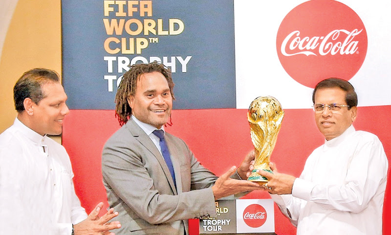 Sri Lanka, first country for FIFA World Cup 2018 Trophy tour