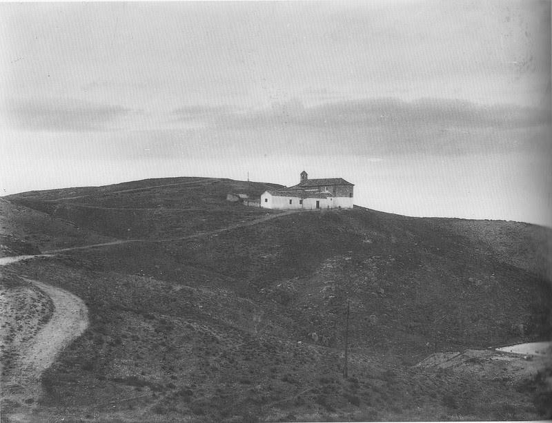 Ermita de la Bastida hacia 1925. Atribuida a Rodríguez