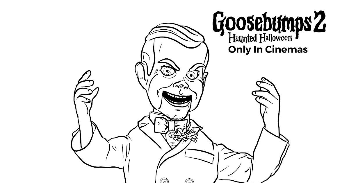 98 [tutorial] goosebumps 2 haunted halloween coloring