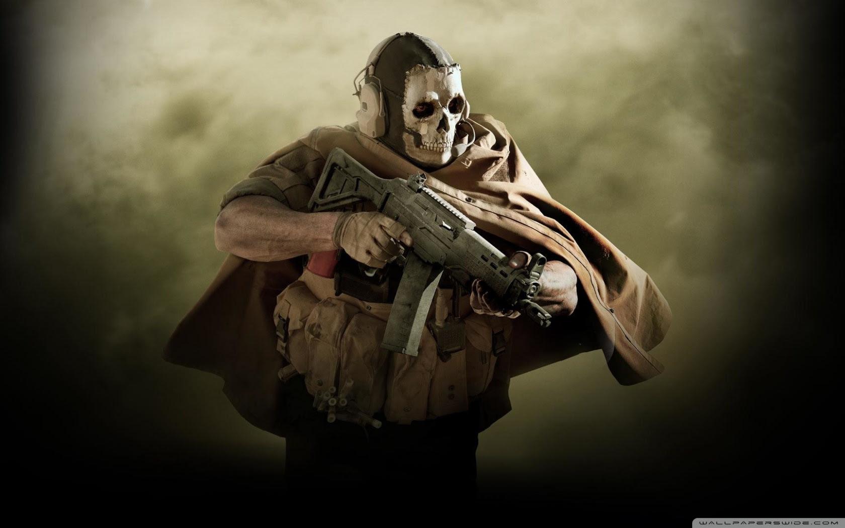 Call Of Duty Modern Warfare 2019 Ghost Ultra Hd Desktop Background