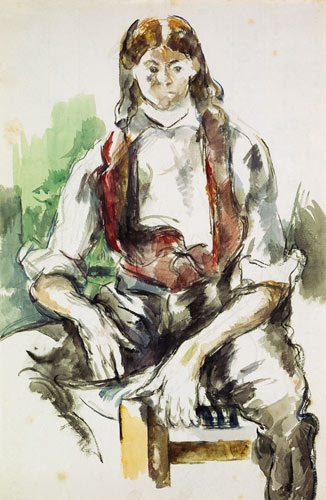 Boy with a Red Vest