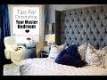 interior design tips master bedroom