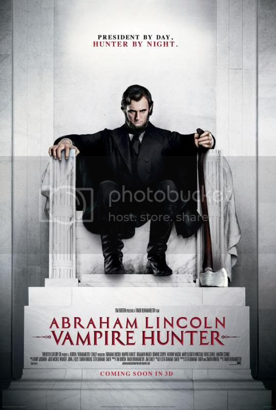 Abraham Lincoln Vampire Hunter Poster 2