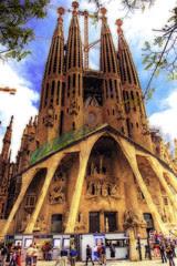 Sagrada Familia Barcellona foto di Wolfgang Staudt