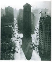 Flatiron Building, Summer, New York, 1947/1948, Rudy Burckhardt