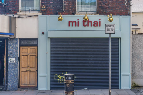 Mi Thai Restaurant On Manor Street - Stoneybatter Area Of Dublin by infomatique