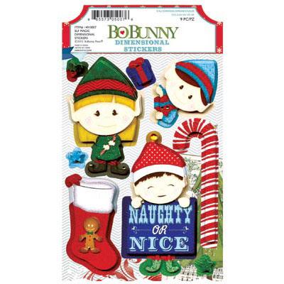 Bo Bunny Elf Magic Dimensional Stickers