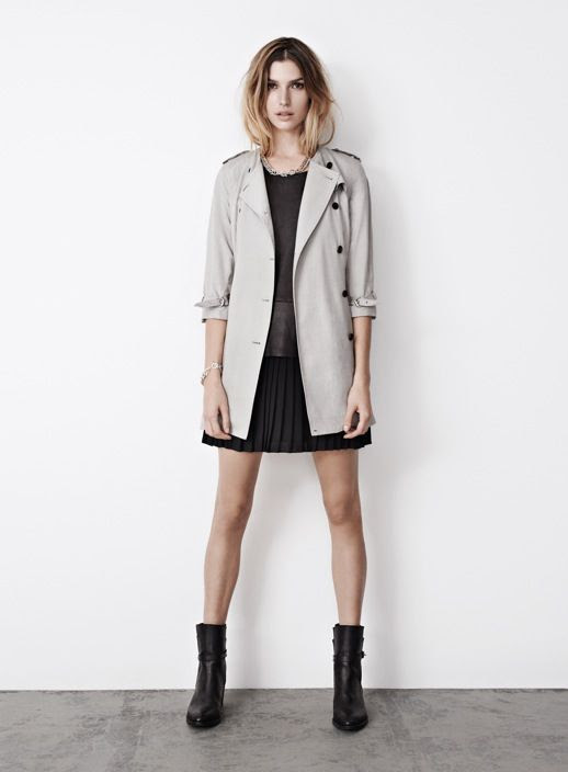 LE FASHION BLOG ALL SAINTS SPRING SUMMER 2013 LOOKBOOK OMBRE HAIR TAUPE LIGHT TRENCH COAT JACKET PLEATED LEATHER SKIRT CHAIN NECKLACE ANKLE BOOTS 11 photo LEFASHIONBLOGALLSAINTSSPRINGSUMMER2013LOOKBOOKOMBREHAIRTAUPELIGHTTRENCHCOATJACKETPLEATEDLEATHERSKIRTCHAINNECKLACEANKLEBOOTS11.jpg