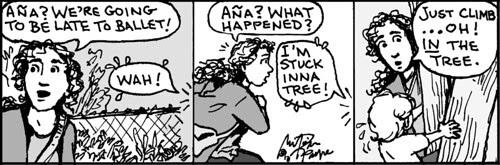 Home Spun comic strip #808