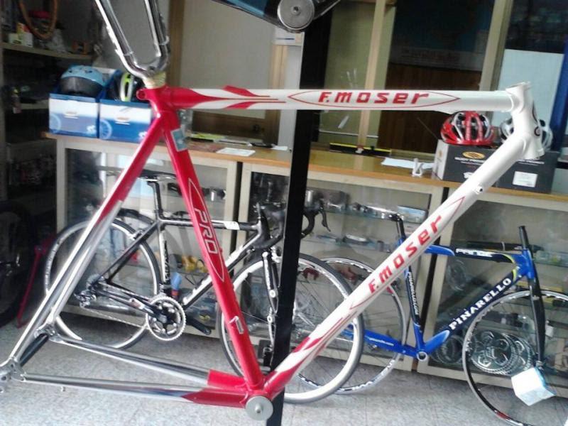 Telaio Moser Acciaio Annunci Biciclette Vendita Bici