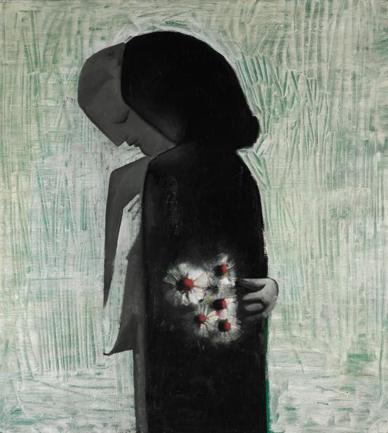 Lovers, 1960, Charles Blackman