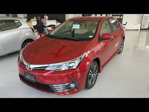 2018 Toyota Corolla Altis 1.6V AT _ Red - Philippines