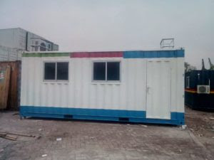 Kontainer Kantor 20 feet, Jual Konatiner Office Surabaya, harga office container 20 feet