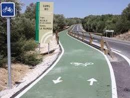 Carril bici de Olivares.