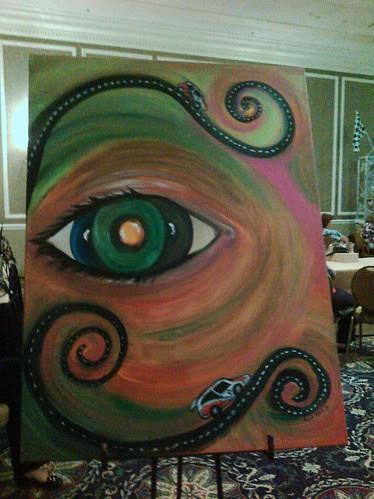 The Three Iris Eye