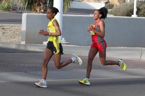 PF Chang Marathon 2010 - Women Leaders