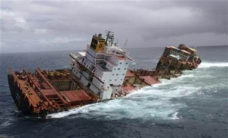 Eight Missing As Ship Sinks Off Scotland Naharnet