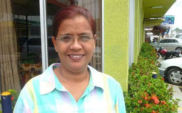 """Bibi Ahamad: """"O suicídio é um grande tabu na Guiana"""" (Foto: BBC Mundo)"""