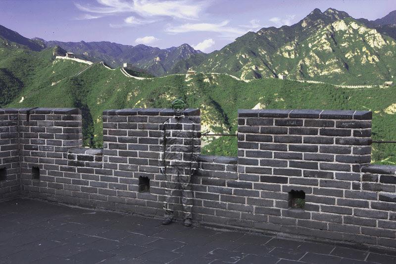 liu bolin de arte de alta resolución se esconden en la pintura de camuflaje china de la ciudad (14)