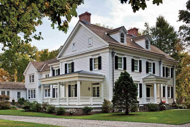 An Elegant New England Federal Old House Online