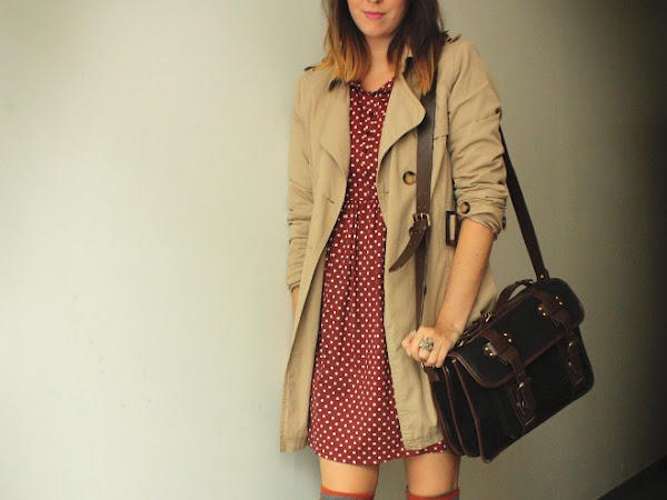 Dots and Over Knee Boots