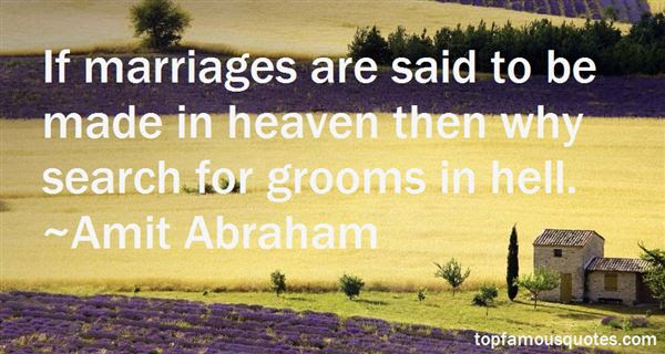 Marriages Made In Heaven Quotes Best 8 Famous Quotes About