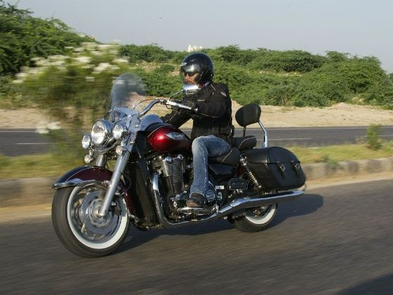 Triumph Thunderbird LT ride review