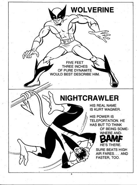 X-Men Super Activity Book00004
