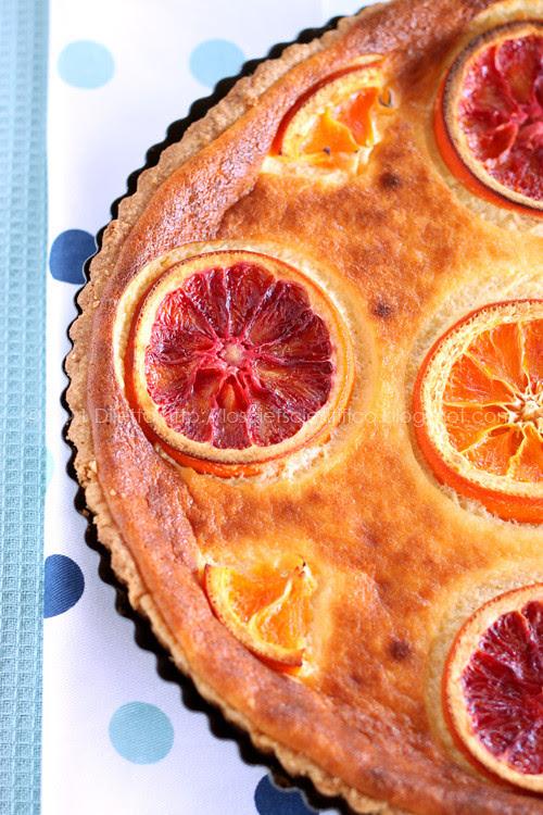 Ricotta & Orange Tart