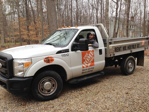Home Depot Delivery Truck Home Decor