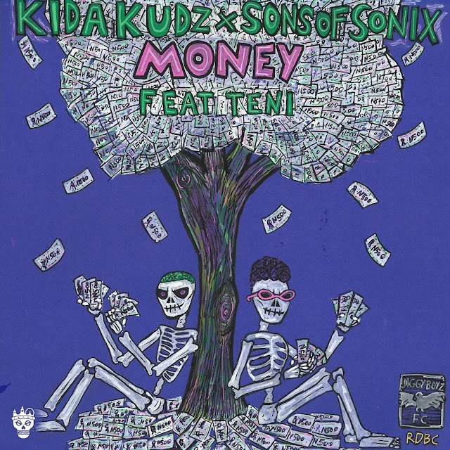 [BangHitz] MUSIC : Kida Kudz & Sons Of Sonix ft. Teni – Money.