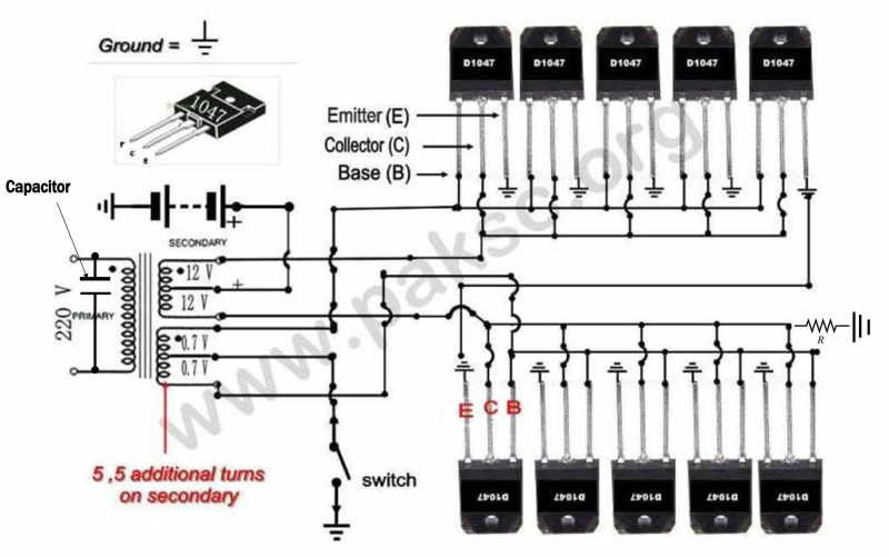 inverter circuit diagram 1000w pdf